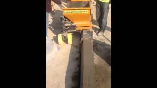 Bormaksan Bordür Makinası Üretim Videosu