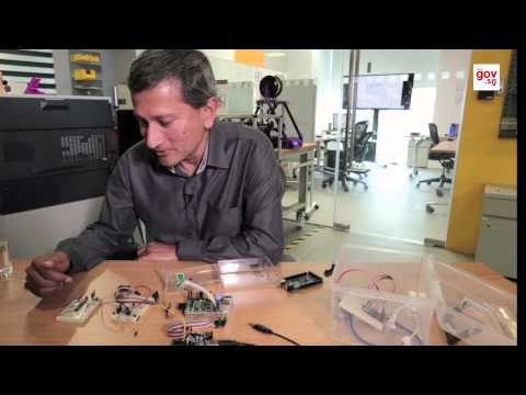 Minister Vivian talks gadgets!