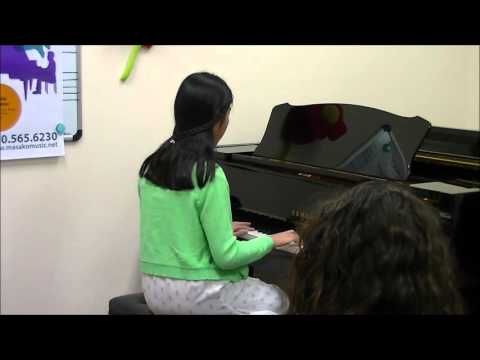 """River Flows in You"" from Winter Concert 2016 at Masako's Music Studio in Newark, CA"