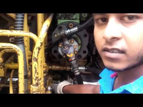 Hydraulic Excavator MS 110 Main Reliaf  Valve Trouble
