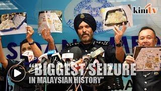 Police: Biggest seizure in Malaysian history