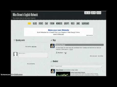 Social Networks (Wall.fm)