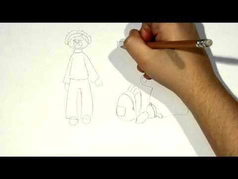 C mo hacer un dibujo para el d a del padre youtube - Como hacer dibujos en la pared ...