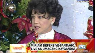 Miriam Defensive Santiago  It