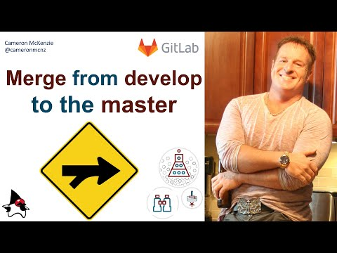 merge develop into master in GitLab example
