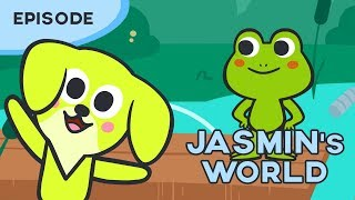 Jasmin's World - Phoebe the Frog *Cartoon for kids* Learn with Jasmin
