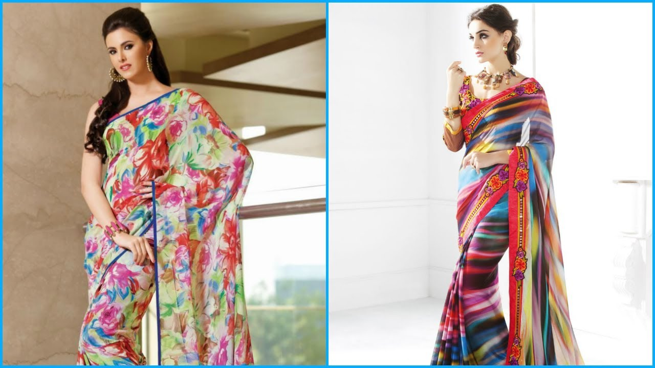 3409d57fe9 Multicolor Saree Collections Under Rs 300 - YouTube