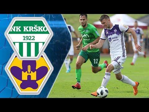33.krog: Krško - Maribor 1:2; Prva liga Telekom Slovenije 2017/2018
