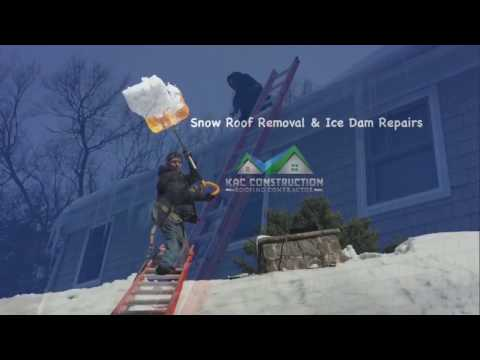 ICE DAMS REMOVALS SWANSEA MA 💥 KAC CONST. (617)544-5084
