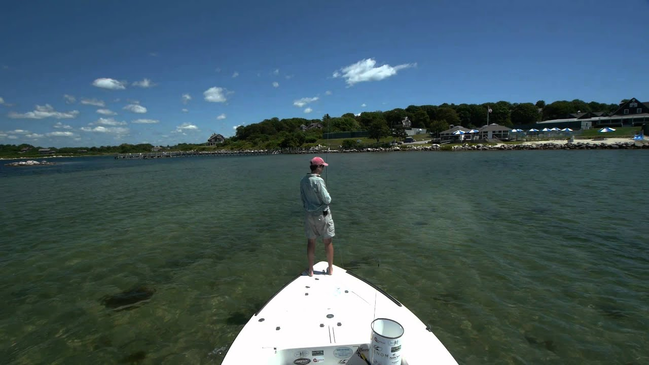 Surf inshore fly fishing 2011 youtube for Long island surf fishing report