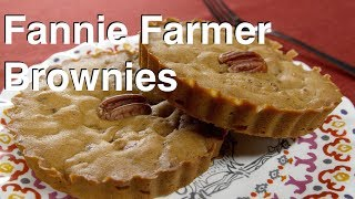 How To Make Fannie Farmer's 1896 Brownies Recipe - Legourmettv