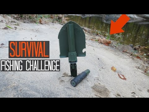 Survival Fishing Challenge Multi Tool Only No Rod Lures Etc