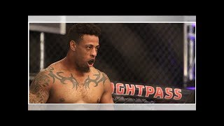 Ex-NFL contender Greg Hardy gets his UFC contract with the first round|| NEWS US TODAY