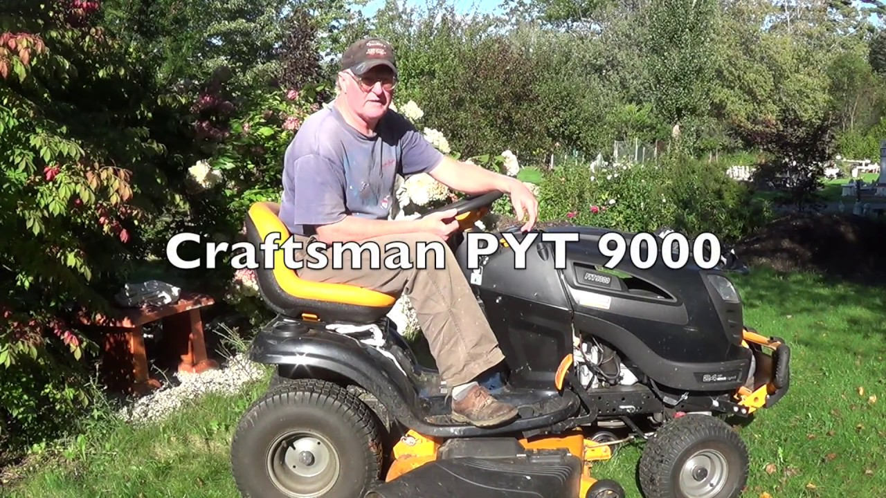 Craftsman Lawn Tractor - Reverse Operating System