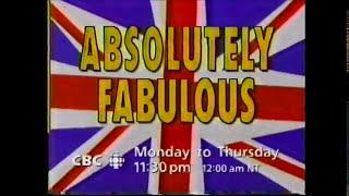 CBC Absolutely Fabulous Promo (1995)