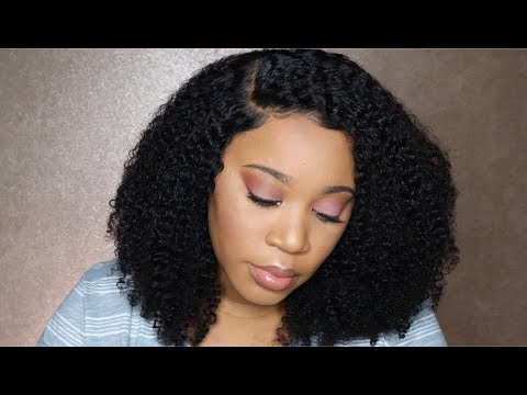 360 lace front human hair kinky curly wigs
