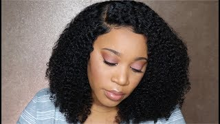 Styling Kinky Curly Hair I 360 Lace Frontal Bob Wig I Ywigs
