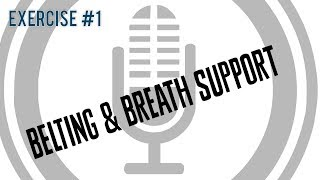Belting & Breath Support [Exercise 1] | Free Voice Lessons with Cherish Tuttle