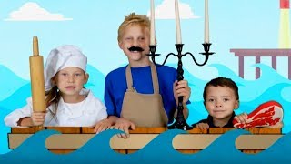 Three Man in a Tub | Songs for Kids