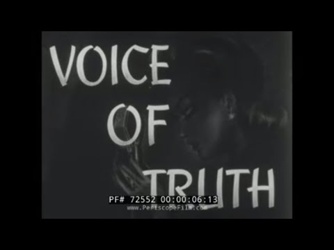 "TOKYO ROSE WWII PROPAGANDA FILM ""VOICE OF TRUTH"" 72552"