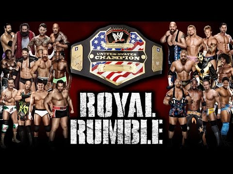 WWE 2K15 - 30 Man Royal Rumble For United States Title | Universe Mode Special [New Gen]