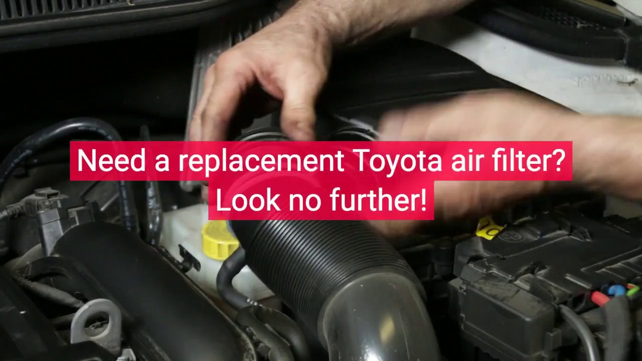 hight resolution of air filters genuine oem toyota parts parts toyotaofcoolsprings com toyotacool