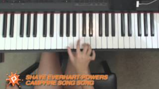 Campfire Song Song piano cover by Shaye Everhart Powers