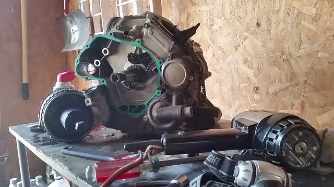 Can Am Gade/Outty Magneto Removal Engine Tear Down P3 (G1)
