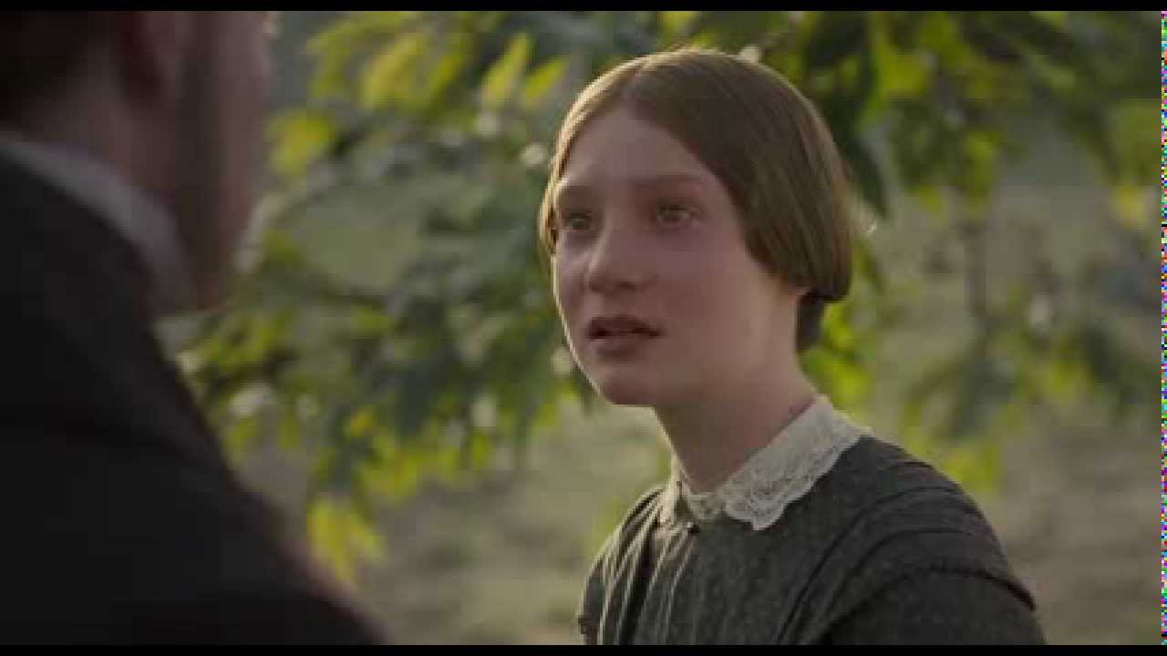 Jane Eyre Am I A Machine Without Feelings Quote Scene Youtube