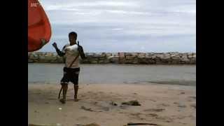 KiteBoarding Suchada Beach, Rayong, Thailand