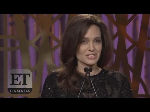 Download Youtube: Angelina Jolie Speaks At Women In Entertainment Event