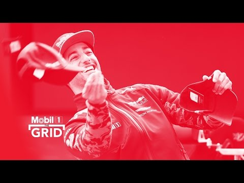 Bull Run – Daniel Ricciardo & David Coulthard At ExxonMobil HQ | Mobil 1 The Grid