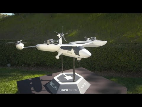 First look at Uber's flying taxi models