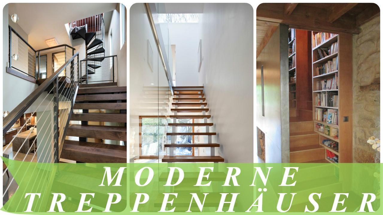 Moderne Treppenhäuser