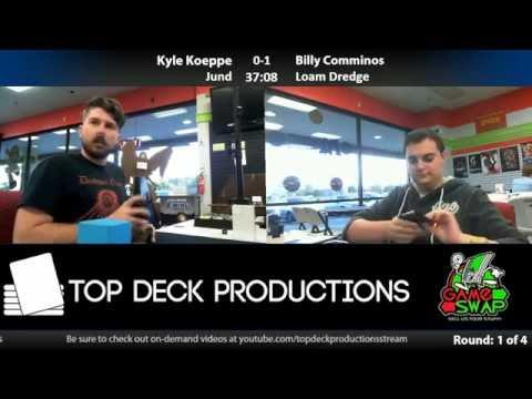 Modern 10/4/16: Kyle Koeppe (Jund) vs Billy Comminos (Loam Dredge)