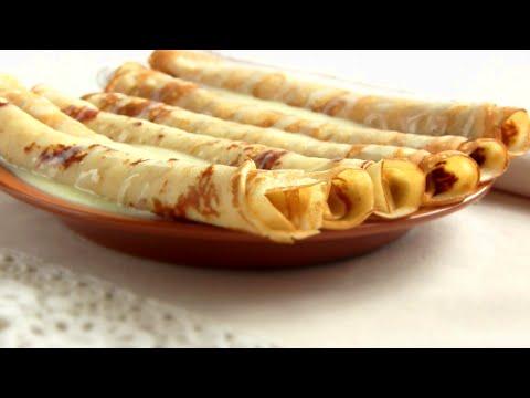 Вкуснейшие БЛИНЫ  /Тонкие блинчики на молоке ореховые