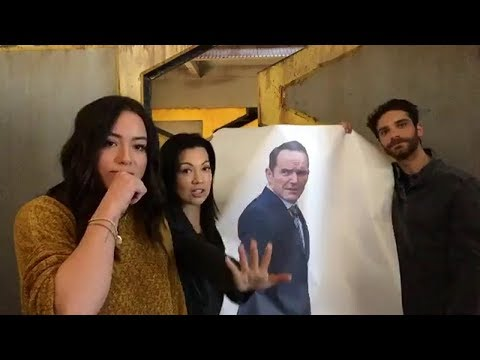 Chloe Bennet & Jeff Ward | Live Stream | with Ming-Na Wen [Q&A]