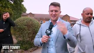 Tommy Robinson DISPELLING The Main Stream Media MYTH