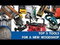Top 5 Power Tools Every Woodworker Should Own