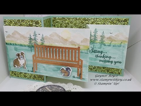 Sitting Pretty/Waterfront card Stampin' Up!
