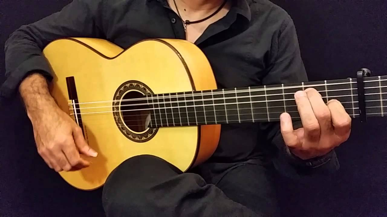 Prudencio Saez 22 Flamenco Guitar - YouTube