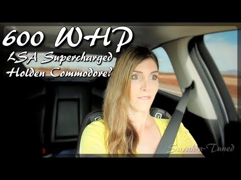 600WHP LSA Supercharged Holden Commodore // Chevy SS Review