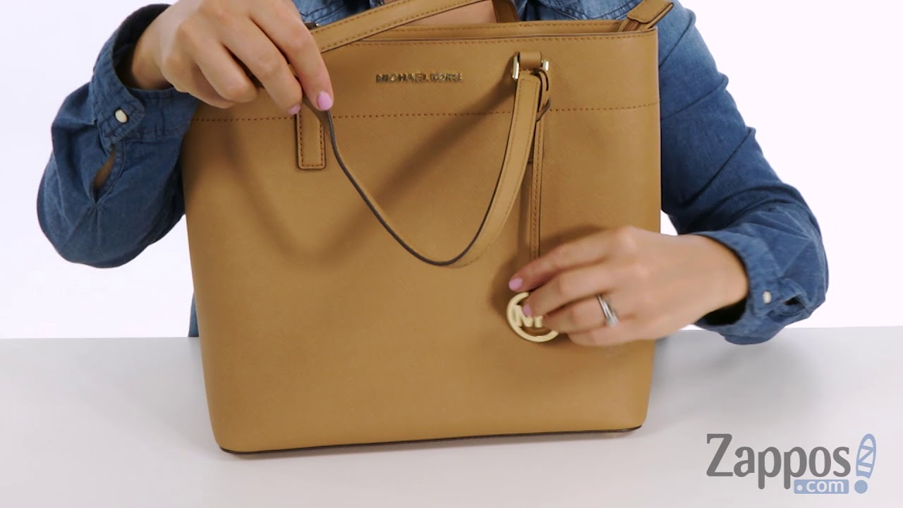 91f43bd8a97c MICHAEL Michael Kors Morgan Large Tote SKU: 8976725 - YouTube