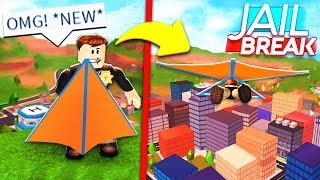 *NEW* GLIDER UPDATE IS OUT! Roblox Jailbreak