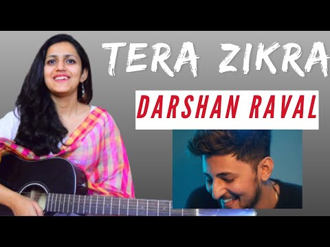 Tera Zikr Guitar Lesson | Simple Guitar Chords | Darshan Raval