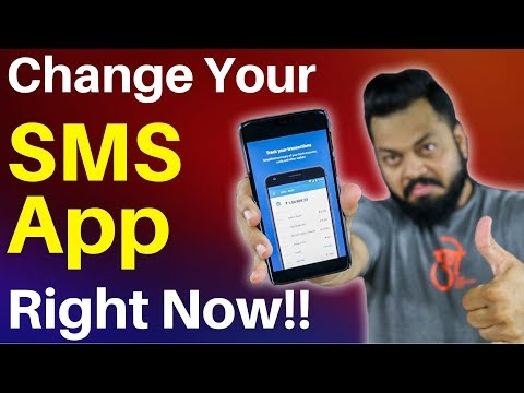 Change your Default SMS APP Right Now With THIS - Best Android SMS Replacement App