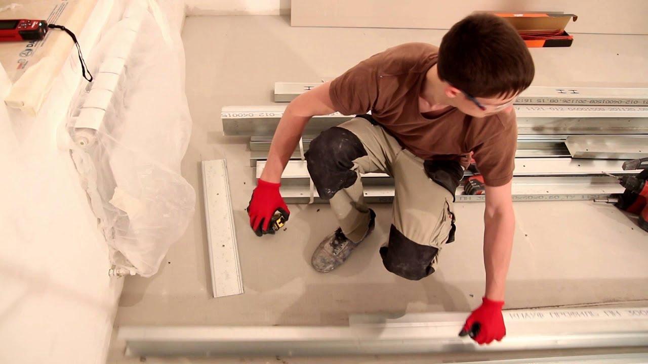Как сделать перегородку из гипсокартона (ГКЛ) своими руками инструкция