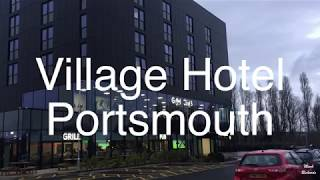 VILLAGE HOTEL PORTSMOUTH TOUR of Club Room, Gym & Business Club.