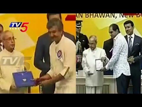 National Film Awards 2016 | SS Rajamouli & Krish Receive National  Awards | TV5 News
