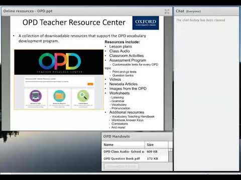 Camp ELT Online Recording Rounding Out Your Course With Online Resources OPD
